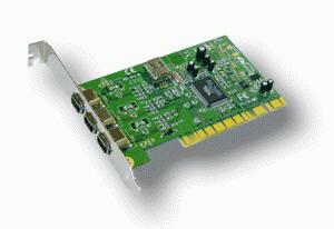 Was ist ein IEEE 1394-Netzwerkadapter? ieee 1394 firewire netzwerk netzwerkkarte ilink schnittstelle treiber PCI IEEE 1394 Netzwerkadapter (Sony I.link)